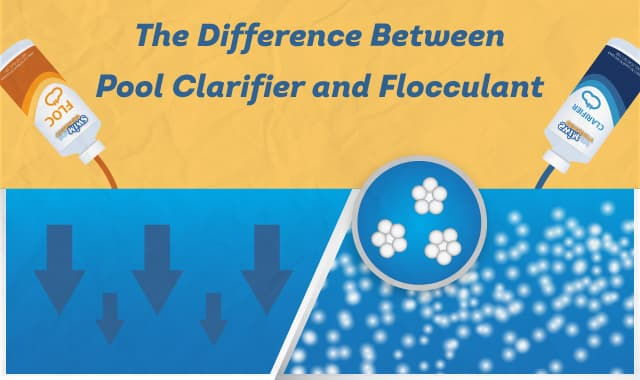 The Difference Between Pool Clarifier And Flocculant