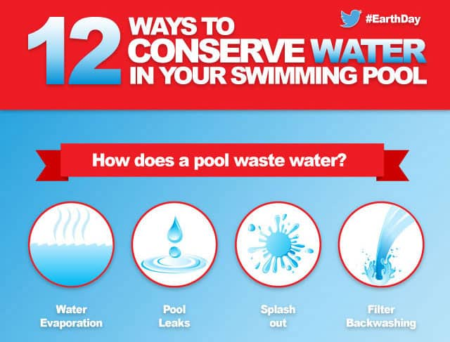 12 Ways To Conserve Water In Your Swimming Pool
