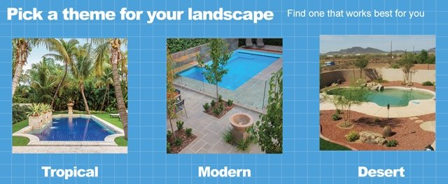 Pool Landscaping Themes - How To Landscape Around An Inground Pool In A Weekend