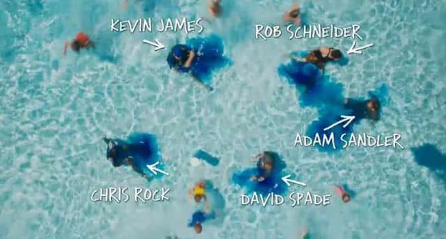 Grown Ups Pool Scene