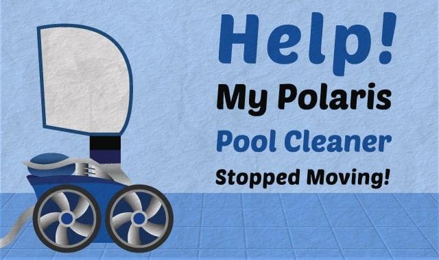 help my polaris pool cleaner stopped moving rh swimuniversity com Polaris 180 vs 280 Polaris 180 Bag