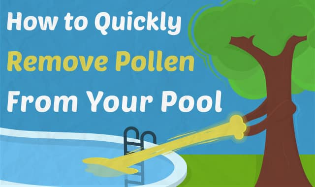 How to quickly remove pollen from your pool - How to clear green swimming pool water ...