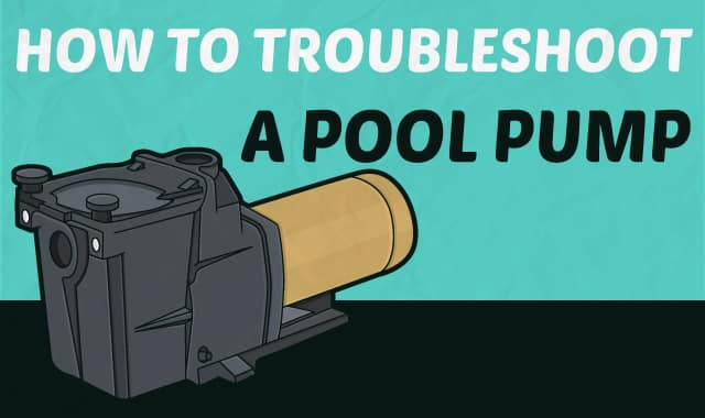 how to get pool water going through pump