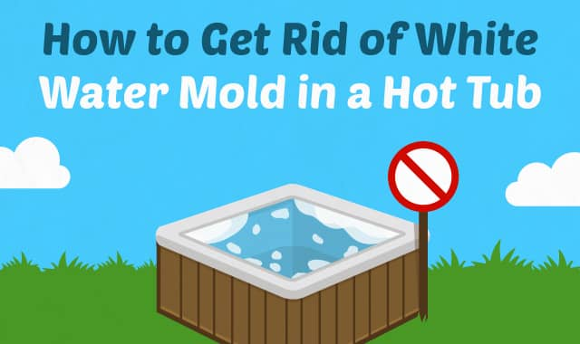 How To Get Rid Of White Water Mold In A Hot Tub