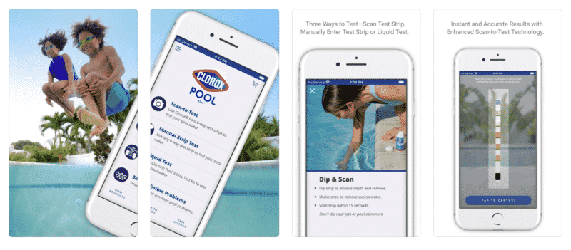 Clorox Pool App