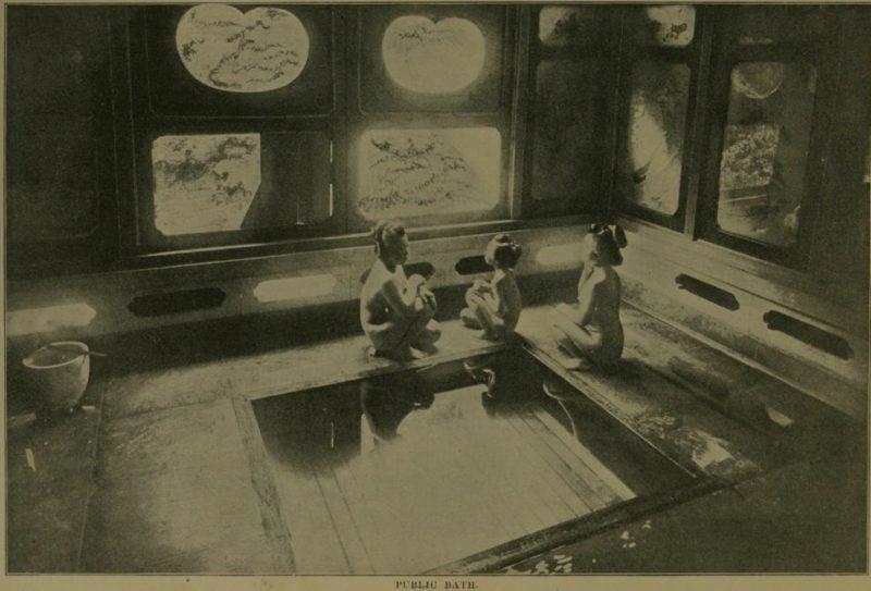 Japanese Sentō, 1901