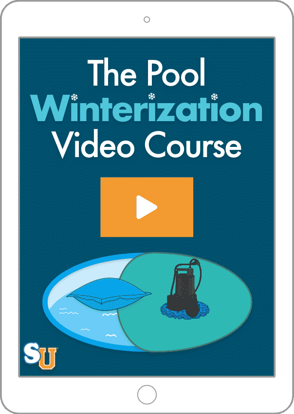 Le cours vidéo sur l'hivernage des piscines
