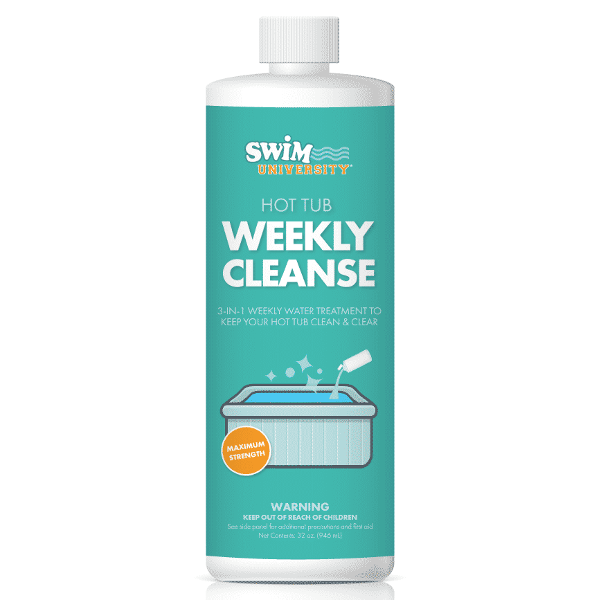 Hot Tub Weekly Cleanse: Water Conditioner & Clarifier