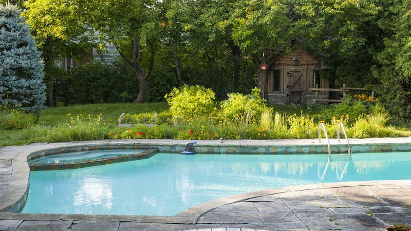 stone pool coping