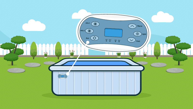 How Does a Hot Tub Control Panel Work?
