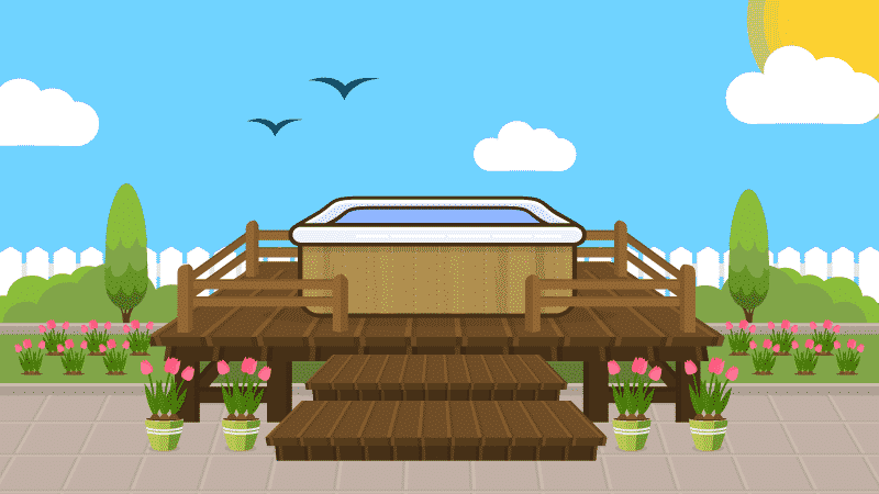 Hot Tub Decks: Everything You Need to Know