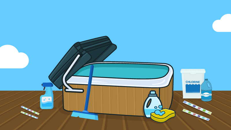 8 Hot Tub Supplies You Absolutely Need