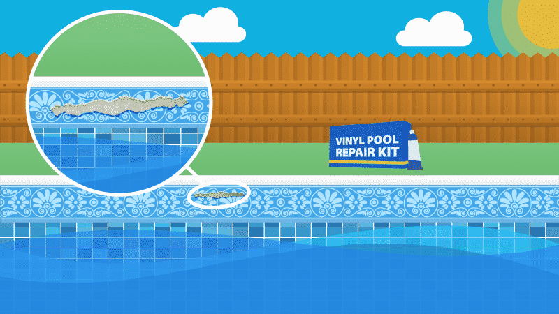 How to Instantly Patch Any Pool Liner