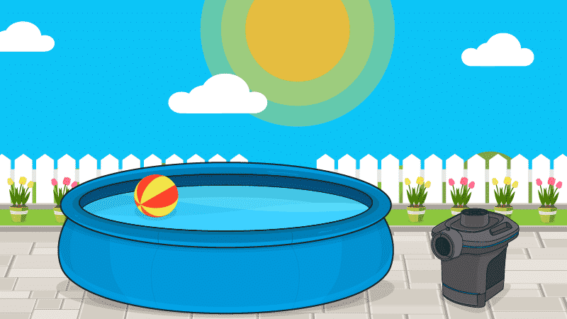 The Inflatable Pool: Just as Much Fun for Less Money