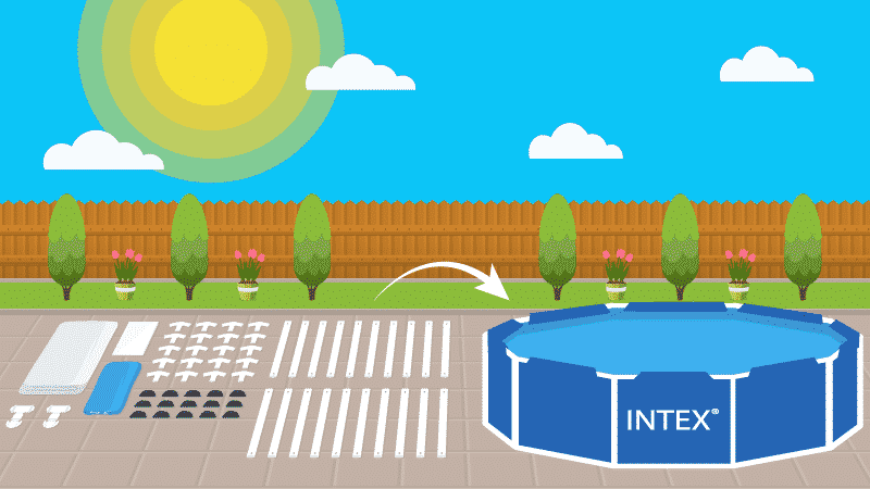 Stress-Free Intex Pool Setup