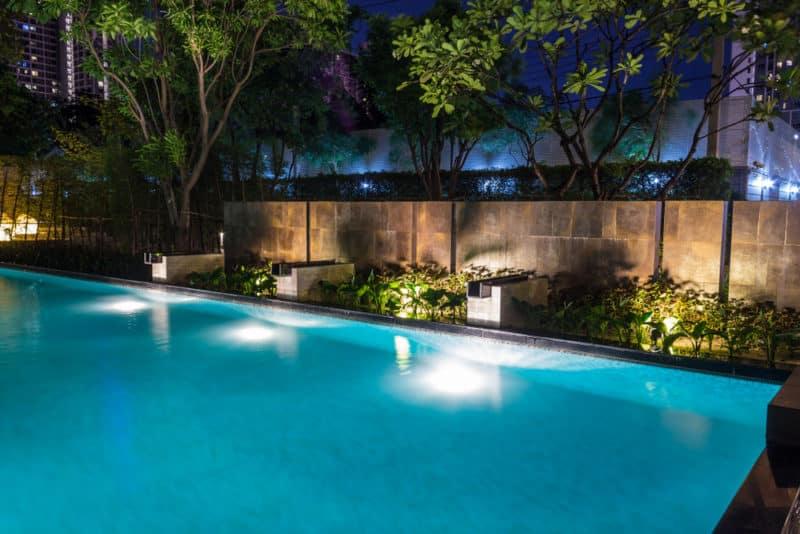 led-pool-landscaping