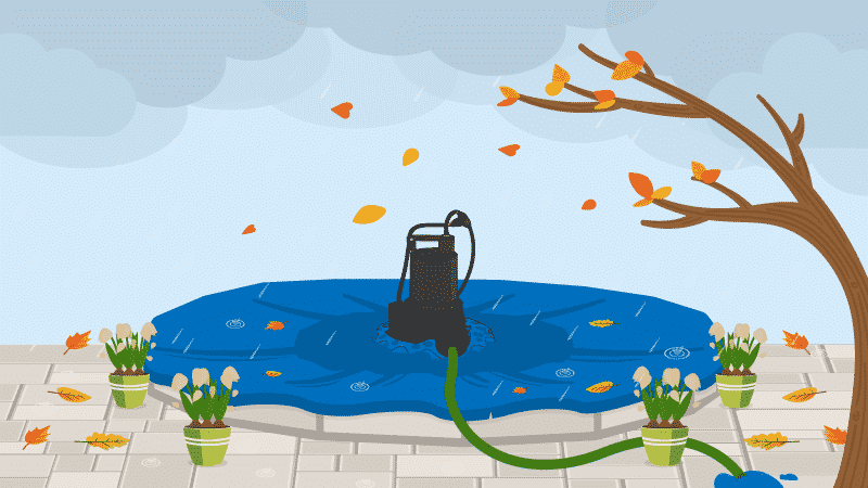 The Best Pool Cover Pumps For Winter Maintenance in 2020