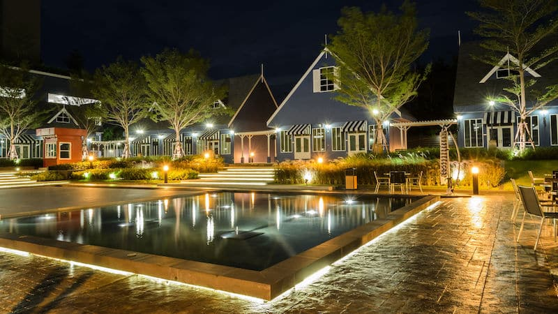 Pool Landscaping Lighting
