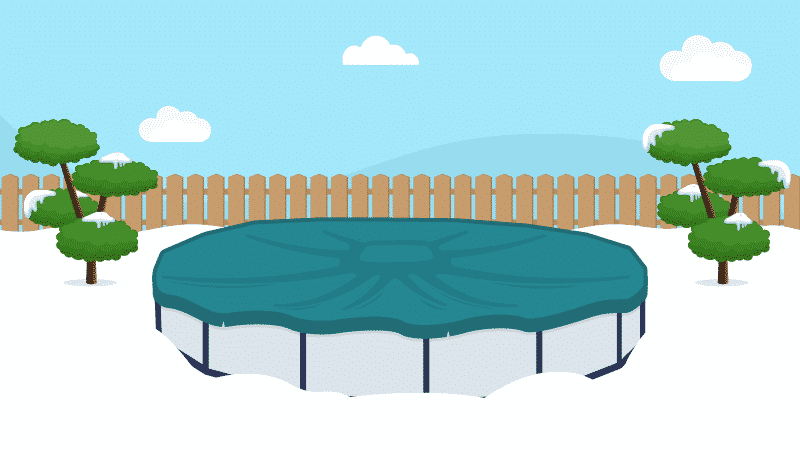 How to Use a Pool Pillow With Your Winter Cover