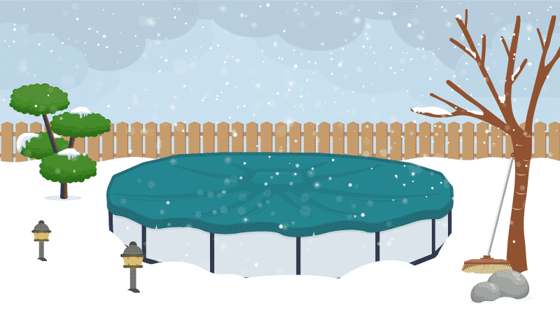 How to Remove Snow From a Pool Cover